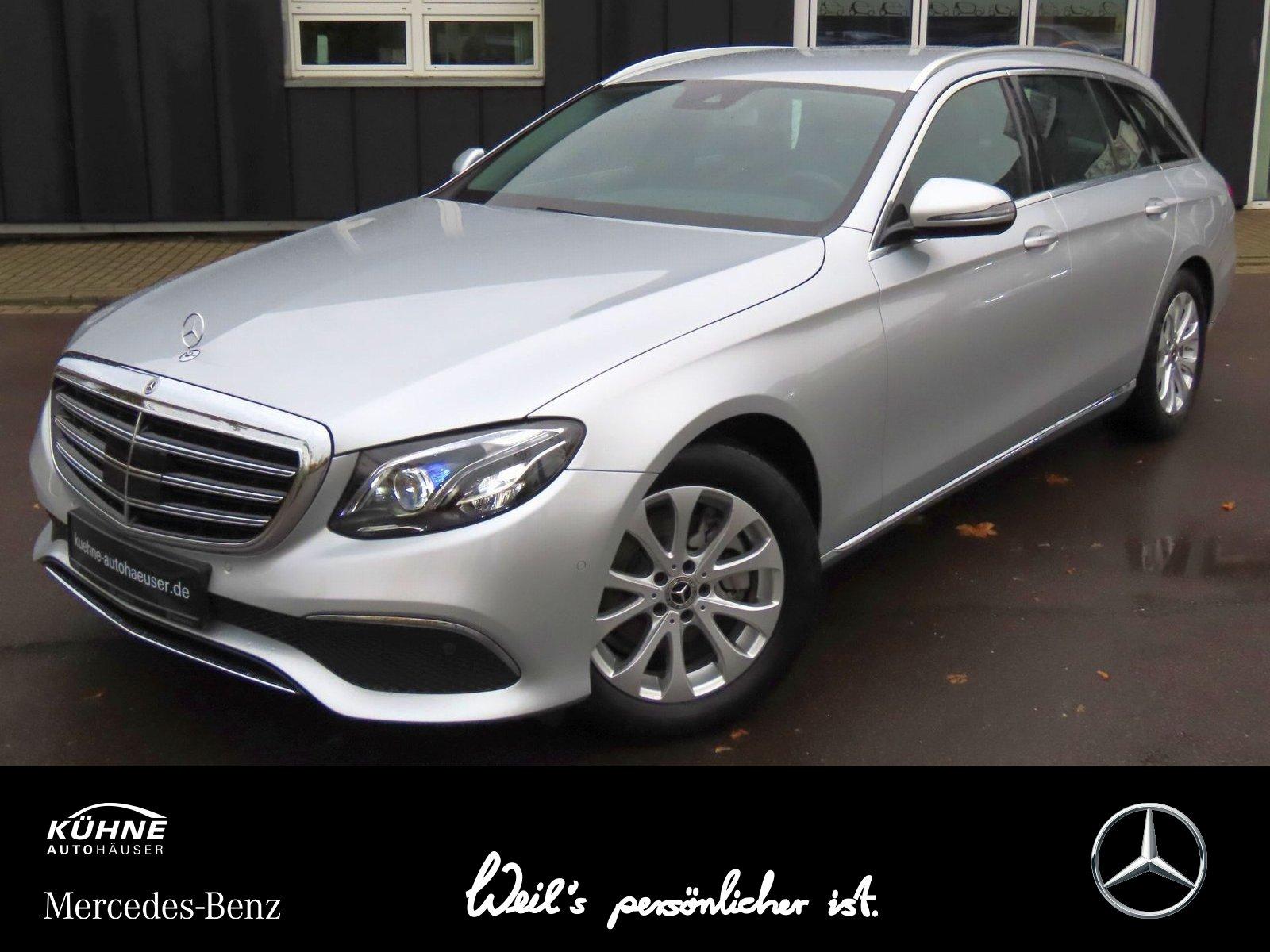 Mercedes-Benz E 200 d T d Exclusive+Distronic+Kamera+Multibeam, Jahr 2019, Diesel