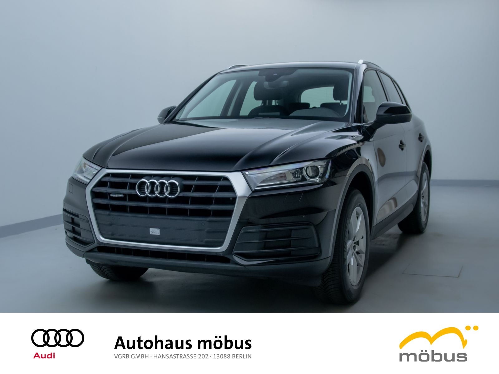 Audi Q5 2.0 TDI QU*S-TRO*PDC*NAV*XEN*GRA*SHZ, Jahr 2018, Diesel