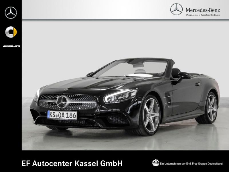 Mercedes-Benz SL 500 AMG+Servoschließen+DAB+HiFi+FahrAssist, Jahr 2018, petrol