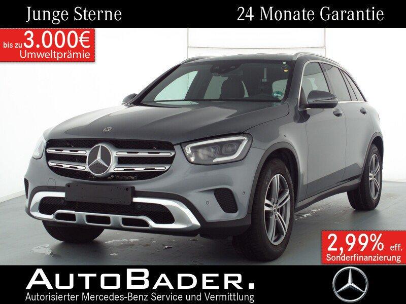 """Mercedes-Benz GLC 200 4M Exclusive MBUX Multibeam 18"""" AssPaket, Jahr 2019, petrol"""
