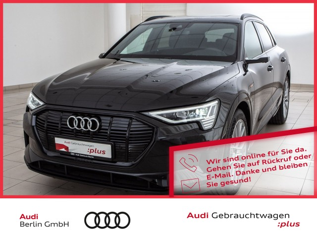 Audi e-tron advanced 55 quattro LED HUD NAVI PANO, Jahr 2020, Elektro