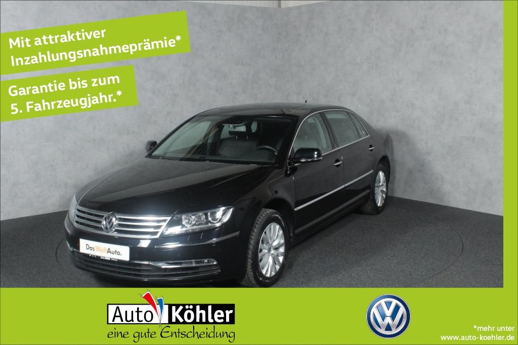 Volkswagen Phaeton LR Glasschiebedach /Sonnenschutzrollo Lu, Jahr 2013, Diesel