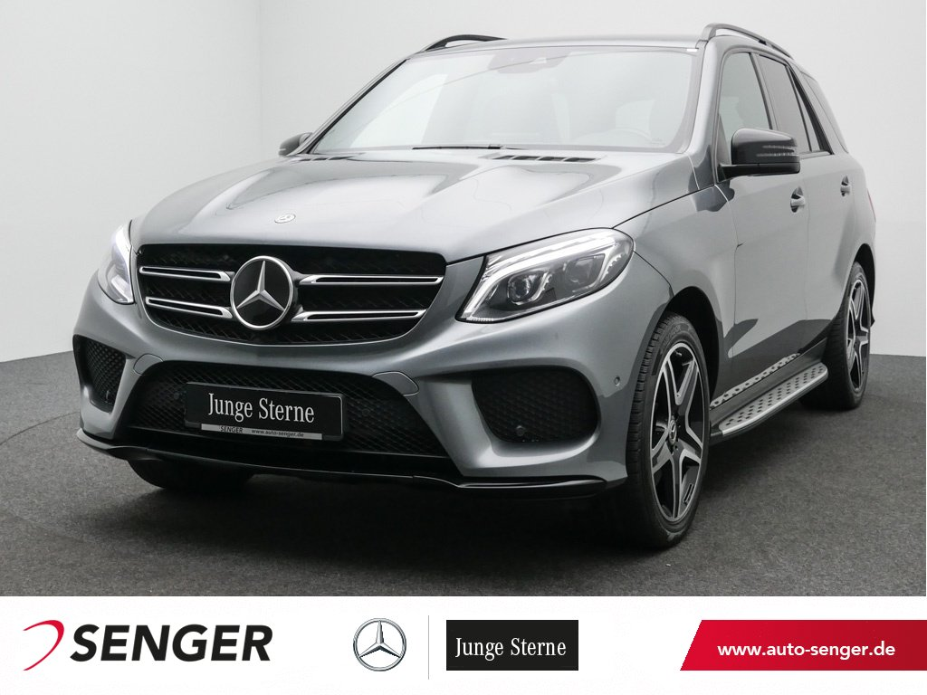 Mercedes-Benz GLE 400 4M AMG Line Night Comand AHK Airmatic, Jahr 2018, Benzin