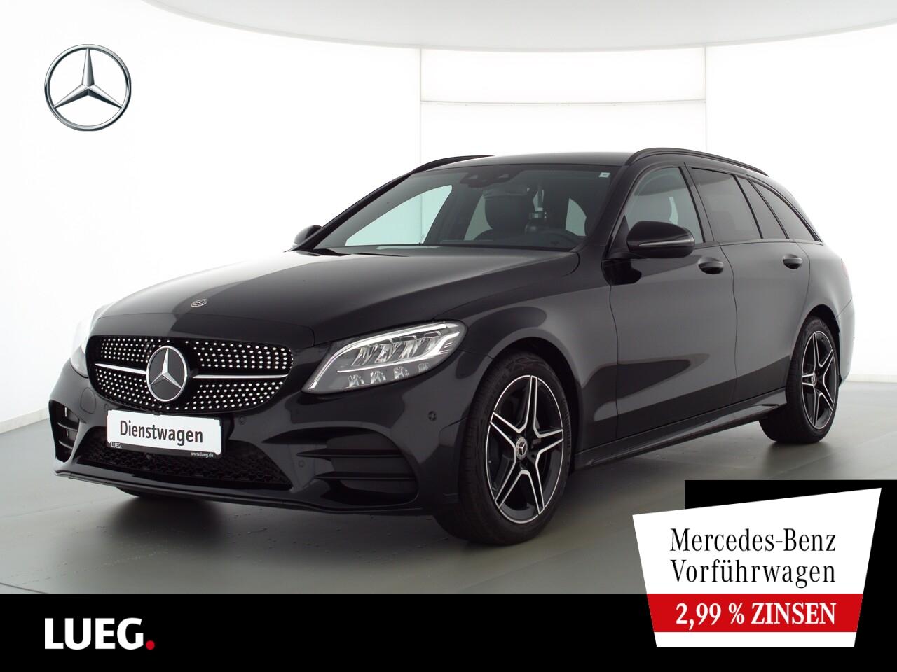 Mercedes-Benz C 180 T AMG+NIGHT+TOTW+LED+KAMERA+DIG.TACHO+PTS, Jahr 2021, Benzin