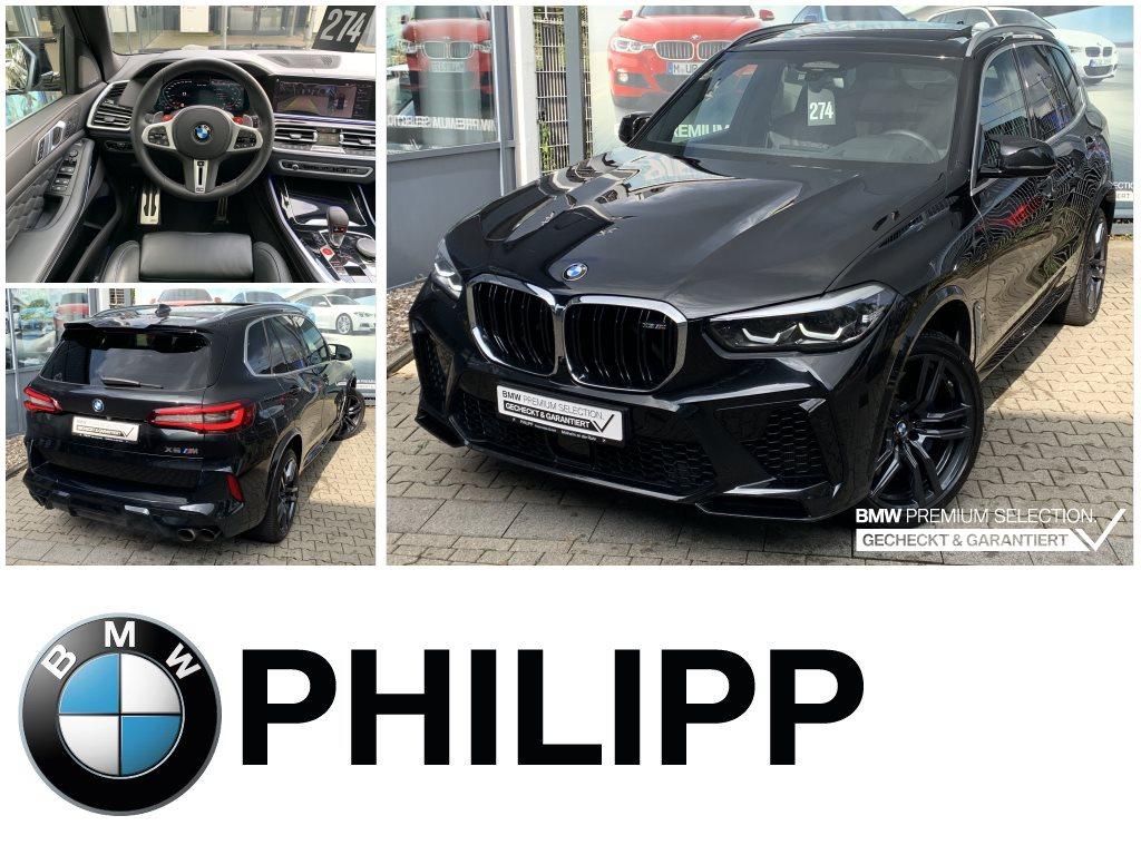 BMW X5 M Gestiksteuerung AHK h&k Pano DAProf. PA+, Jahr 2021, Benzin