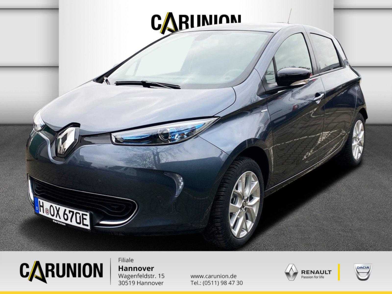 Renault ZOE LIFE 22 KWH (ohne Batterie), Jahr 2020, Elektro