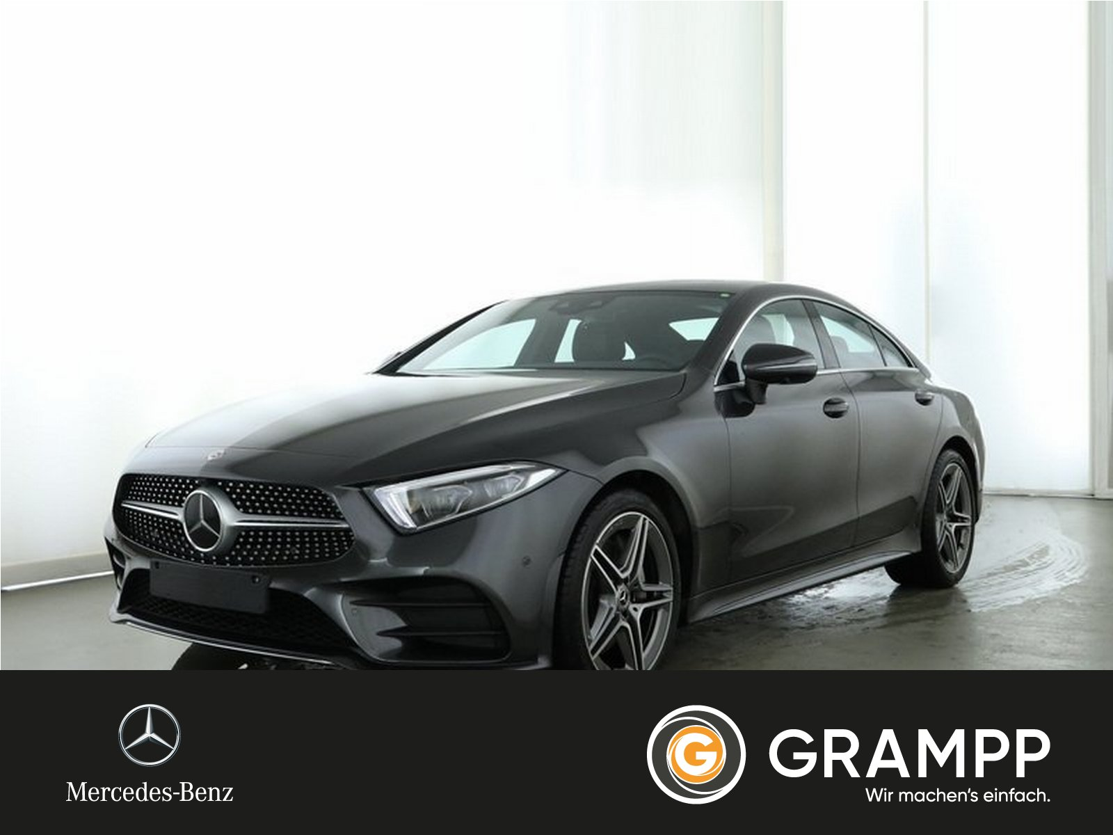 Mercedes-Benz CLS 450 4M AMG Business/LED/Distronic/Widescreen, Jahr 2019, Benzin