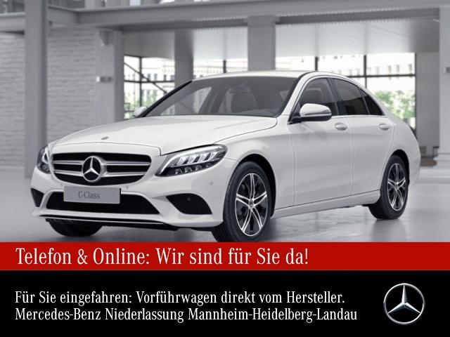 Mercedes-Benz C 160 Avantgarde LED PTS 9G Sitzh Sitzkomfort Temp, Jahr 2020, Benzin