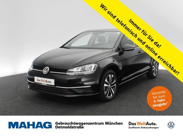 Volkswagen Golf VII 1.6 TDI IQ.DRIVE Navi Sitzhz. ParkAssist FrontAssist 16Zoll 5-Gang, Jahr 2020, Diesel