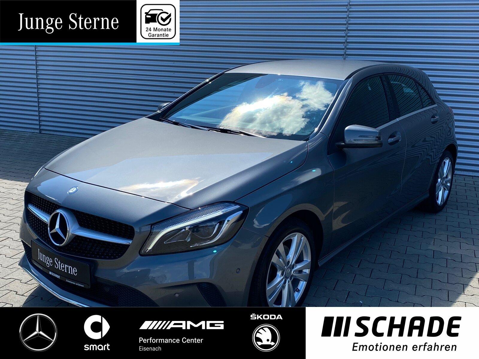 Mercedes-Benz A 200 Urban Navi*LED*Spiegel-P*Sitzhzg.*Park-As*, Jahr 2015, Benzin