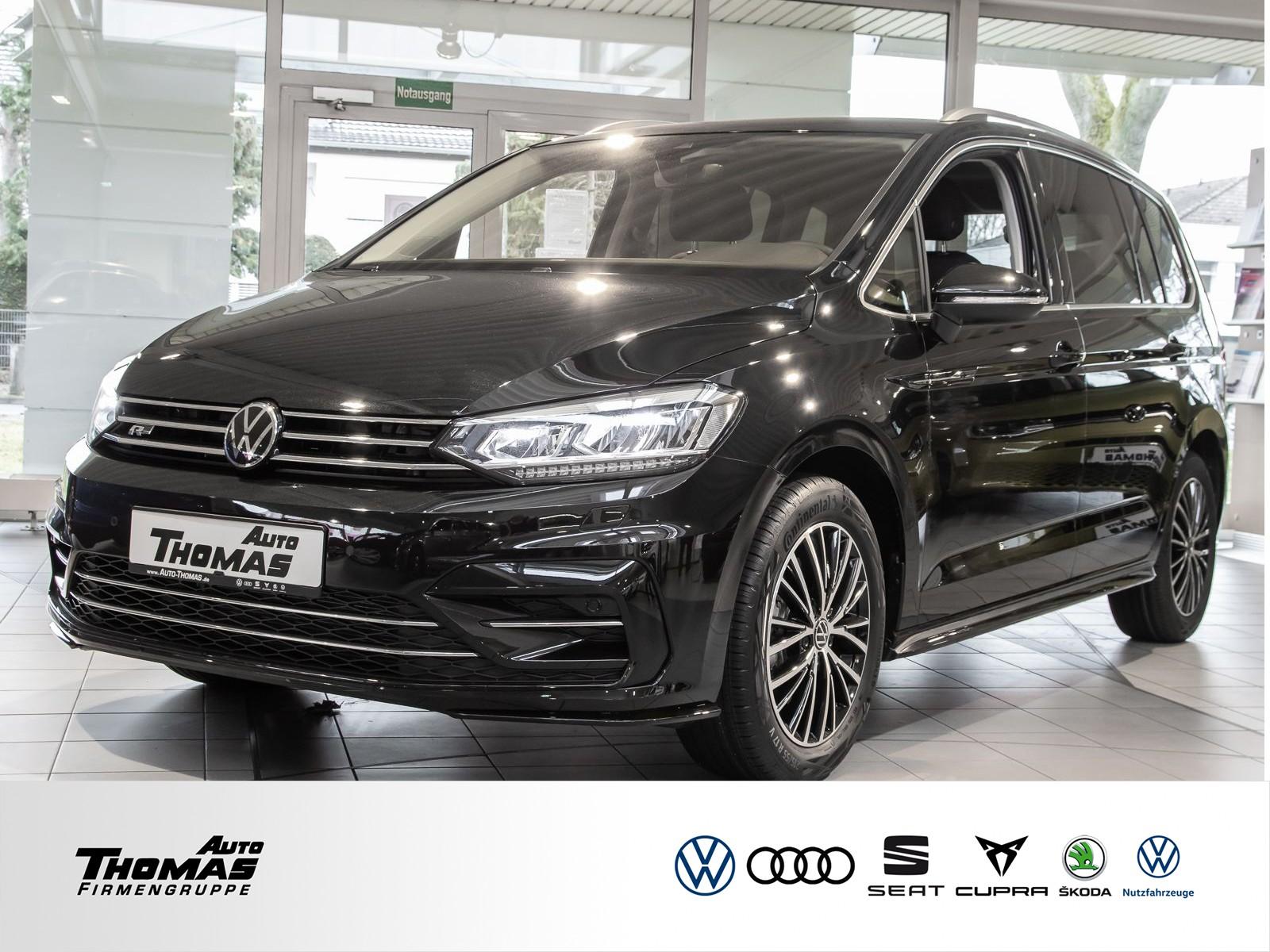 Volkswagen Touran R-Line Comfortline 1,5 l TSI+DSG+Rear View, Jahr 2021, Benzin