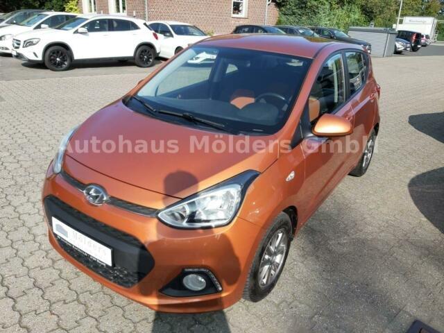Hyundai i10 1.0 *Garantie*Alu*Klima*68 mtl., Jahr 2014, Benzin