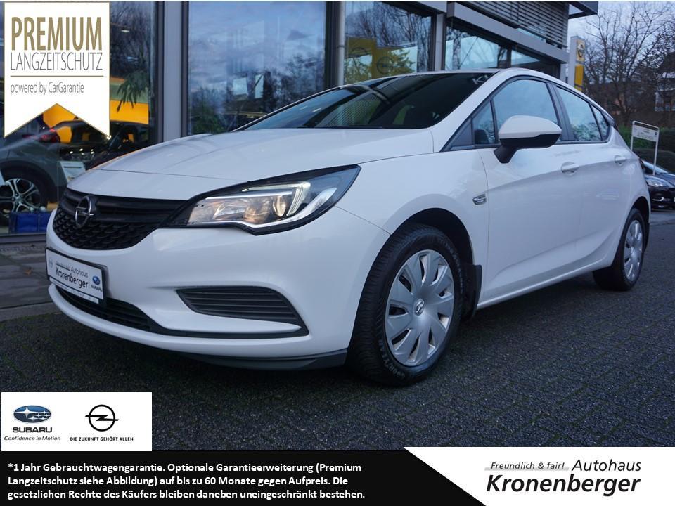 Opel Astra 1.0 Selection Klima Parkpilot hinten, Jahr 2016, Benzin