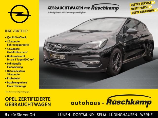 Opel Astra K 5türig 2020 Start Stop 1.2 Turbo EU6d Tempomat Einparkhilfe, Jahr 2020, Benzin