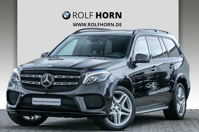 Mercedes-Benz GLS 350 d 4MATIC Navi Leder Glasdach LED EURO 6, Jahr 2015, diesel