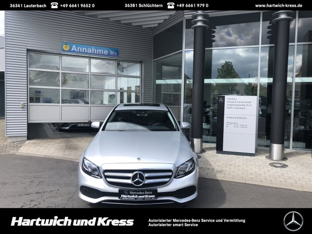 Mercedes-Benz E 300 d Avantgarde Comand AHK 360° EURO6 d-TEMP, Jahr 2018, Diesel