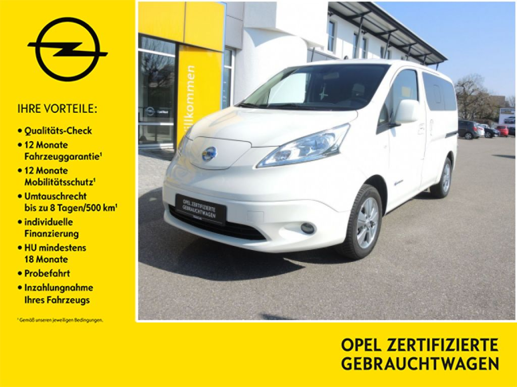 Nissan e-NV200 Evalia Tekna Inkl. Batterie // 7 Sitzer, Jahr 2016, Elektro