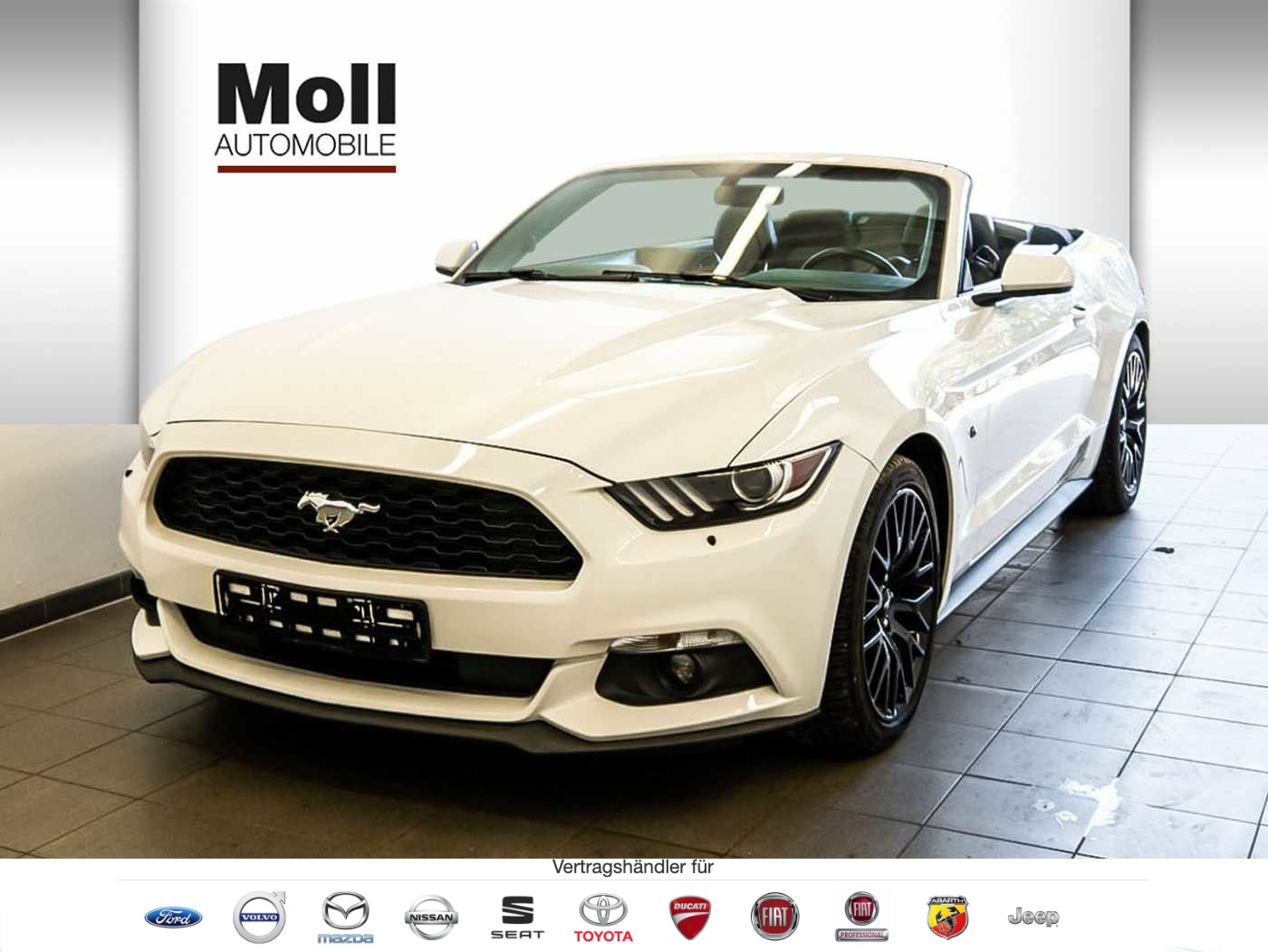 Ford Mustang Cabrio 2.3 Eco Boost, Jahr 2016, Benzin
