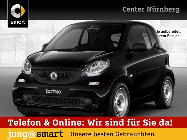smart fortwo coupé 52kW DCT cool&Audio PDC, Jahr 2017, Benzin