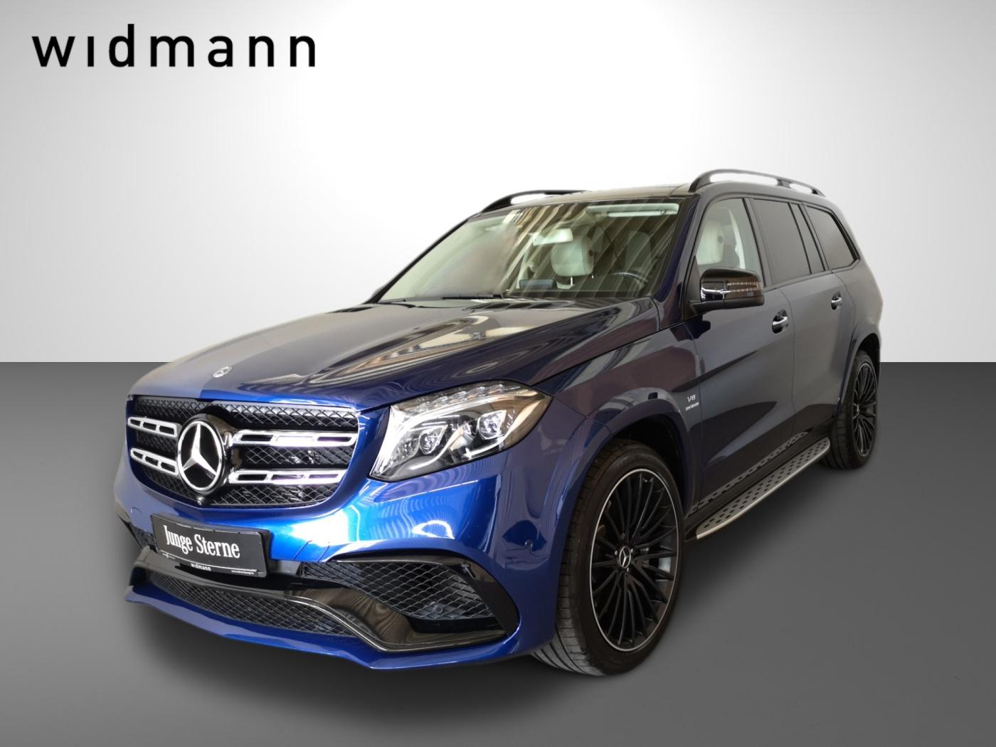 Mercedes-Benz GLS 63 AMG 4MATIC Sitzklima*Pano*AK*Active Curve, Jahr 2017, Benzin