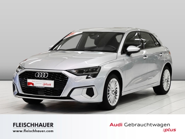Audi A3 Sportback 35 TFSI advanced Navi+VC+ACC+LED+PDC+connect, Jahr 2020, Benzin