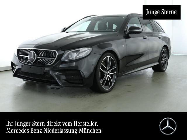 Mercedes-Benz E 53 AMG T 4M + Driver Night Fahrass Wide Pano, Jahr 2019, Benzin