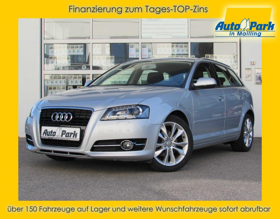 Audi A3 2.0 TDI Sportback Ambition XENON~NAVI~SHZ~PDC, Jahr 2012, Diesel
