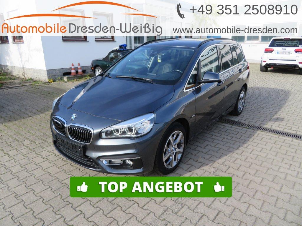 BMW 216 Gran Tourer i Luxury Line*Navi*Kamera*Leder, Jahr 2016, Benzin