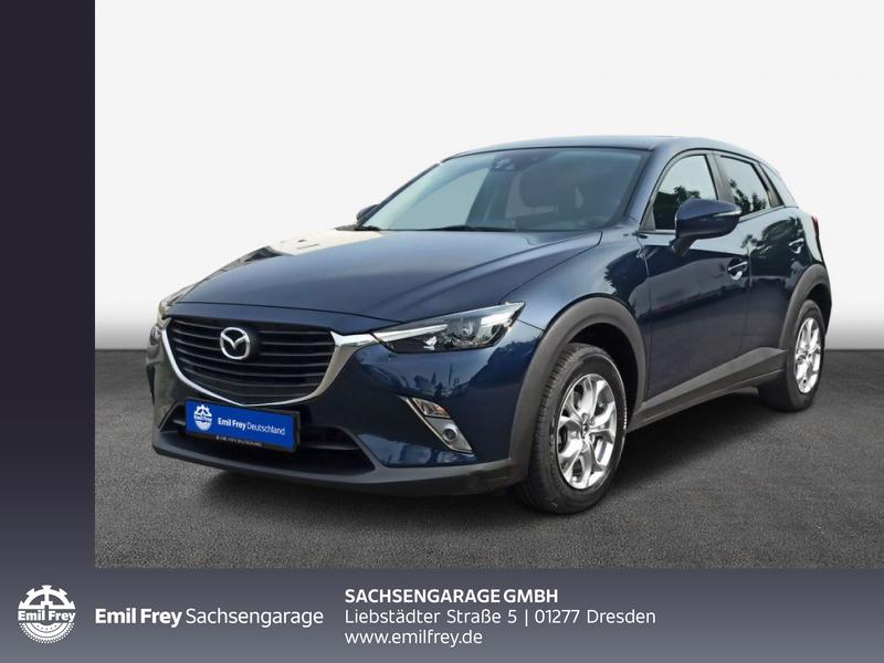 Mazda CX-3 SKYACTIV-G 120 FWD Exclusive-Line Navi LED, Jahr 2017, Benzin