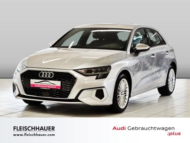 Audi A3 Sportback 35 TFSI advanced Navi+PDC+VC+connect+ACC+SHZ, Jahr 2020, Benzin