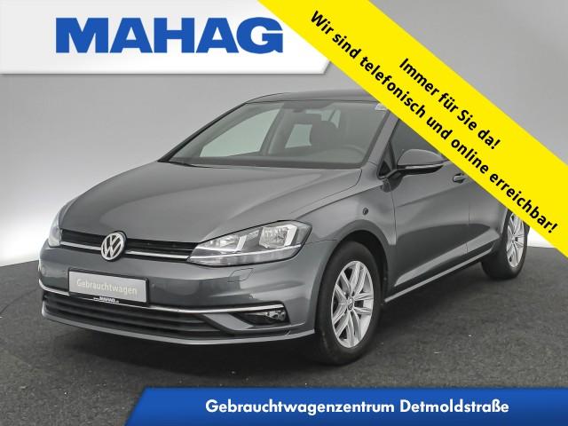 Volkswagen Golf VII 1.0 TSI SOUND AppConnect Sitzhz. ParkPilot FrontAssist 16Zoll 6-Gang, Jahr 2017, Benzin