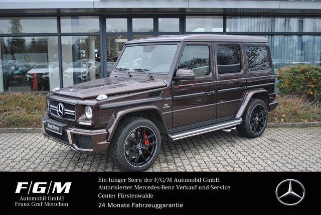 "Mercedes-Benz G 63 AMG designo/Comand/H&K/AHK/SHD/21""/R-Kamera, Jahr 2017, petrol"