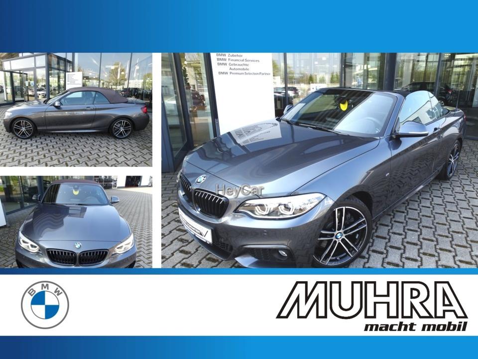 BMW 230i Cabrio M Sport AHK PDC LED Hifi DAB, Jahr 2020, Benzin