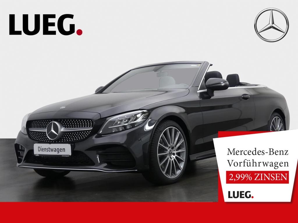 Mercedes-Benz C 200 Cabrio AMG+19''+AHK+LED+AKUSTIKVERDECK+KAM, Jahr 2020, Benzin