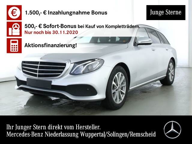 Mercedes-Benz E 200 T 4M LED Totwinkel PTS Easy-Pack 9G Sitzh, Jahr 2019, Benzin