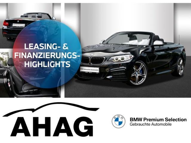 BMW M240i xDrive Steptronic Cabrio Innovationsp. PDC, Jahr 2017, Benzin