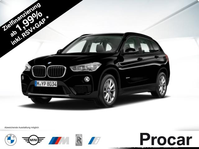 BMW X1 sDrive18i Advantage Klimaaut. Aut. Heckkl., Jahr 2017, Benzin