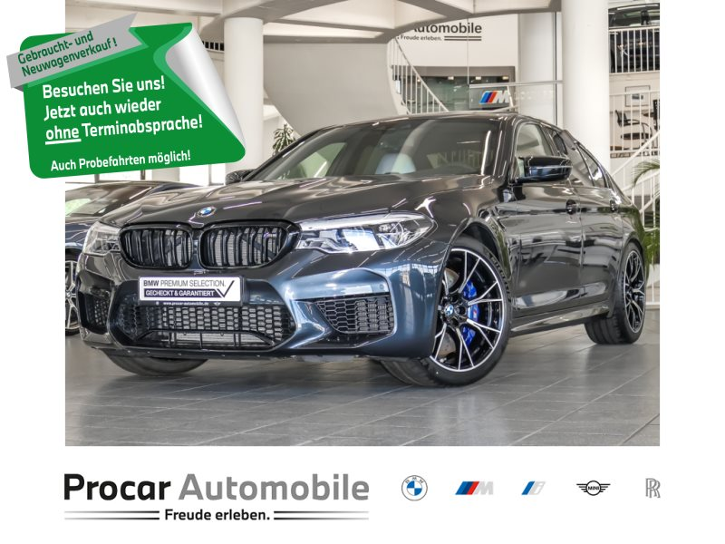 BMW M5 Limousine V-Max B&W Competit HuD DAB LED 20 M-Sitz, Jahr 2019, Benzin