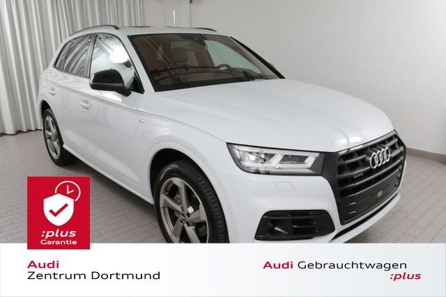 Audi Q5 45TFSI qu. 3xS line/LED/Pano/B+O/DAB, Jahr 2019, Benzin