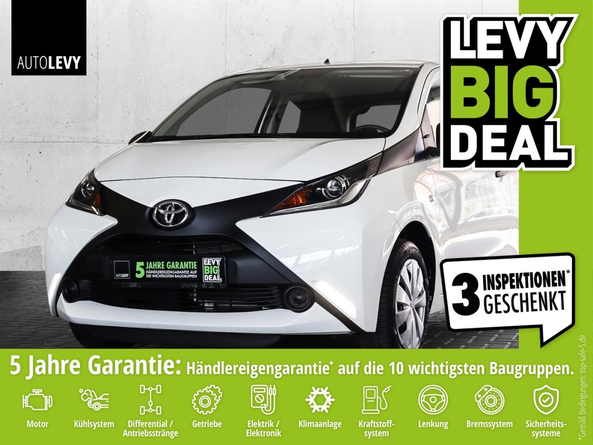 Toyota AYGO x *Allwetterreifen*Klima*Telefon*, Jahr 2017, Benzin