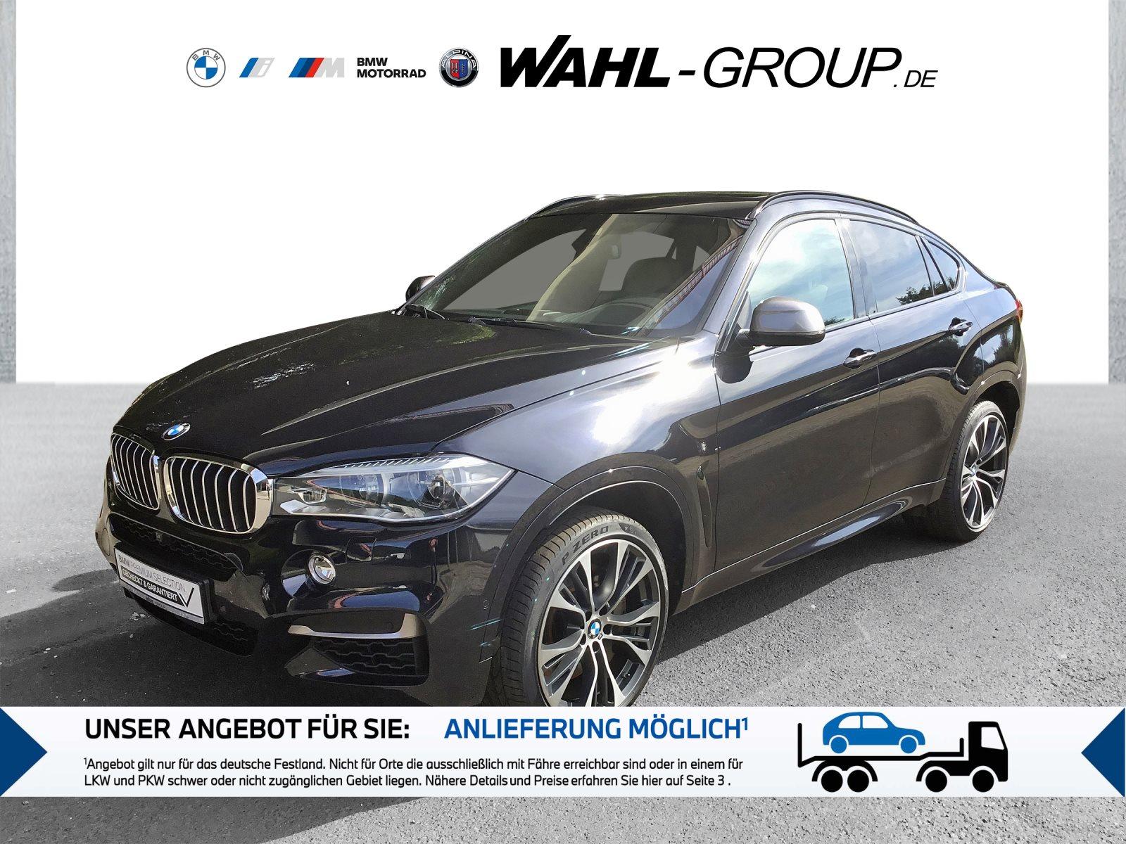 BMW X6 M50d M Sportpaket Head-Up B&O HiFi DAB LED, Jahr 2018, Diesel