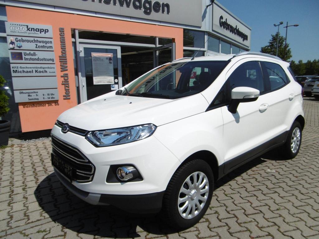 Ford EcoSport 1.0 EcoBoost Titanium, Jahr 2014, Benzin