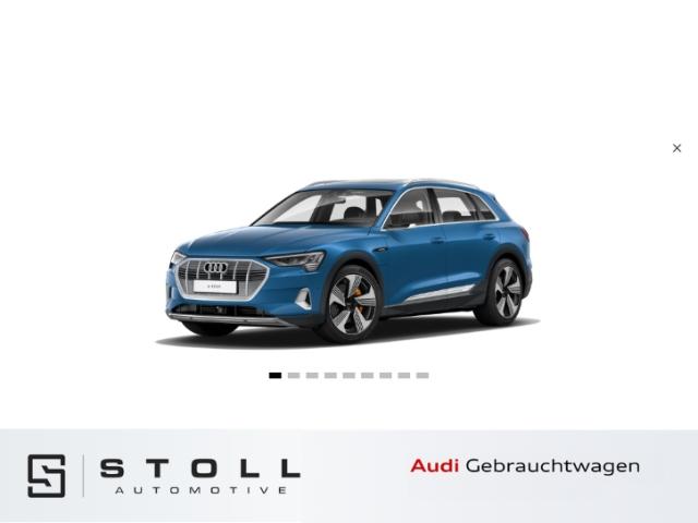 Audi e-tron advanced 55 quattro+21+Pano+Navi+B&O+VirtualCockpitPlus+Sitzhzg+++, Jahr 2019, Elektro