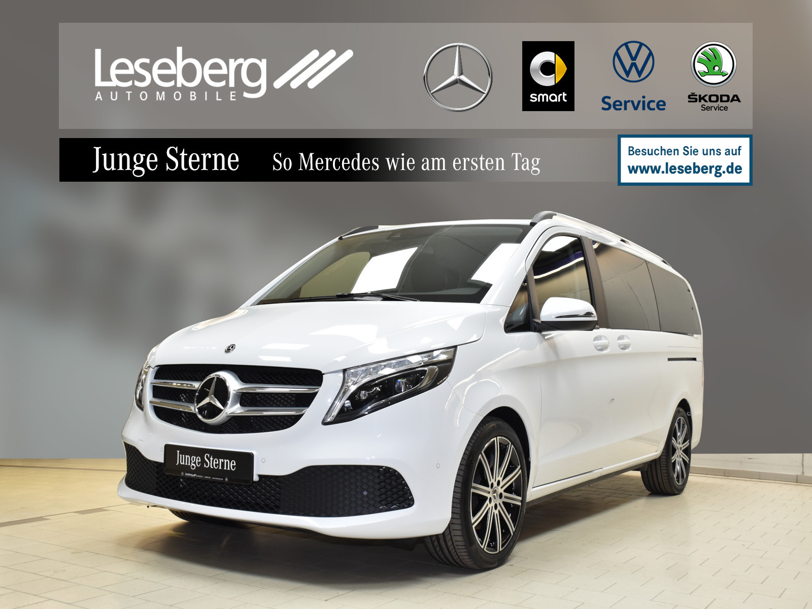 Mercedes-Benz V 300 d EDITION Lang 7Sitze/Kamera/9G/AHK/Navi, Jahr 2020, Diesel