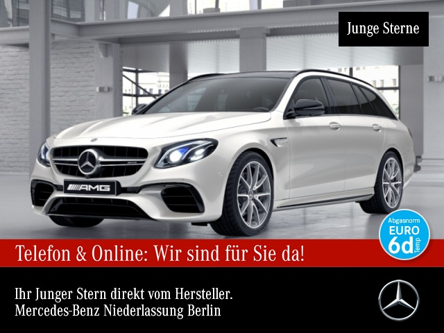 Mercedes-Benz E 63 AMG T 4M+ Fahrass.Wide.COM.Pano.Multi.Night, Jahr 2018, Benzin
