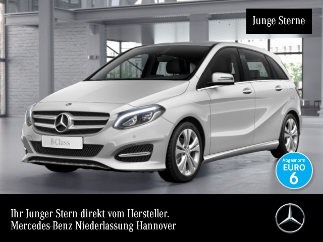 Mercedes-Benz B 180 Edition B Urban LED Navi Laderaump Totwinkel, Jahr 2017, Benzin
