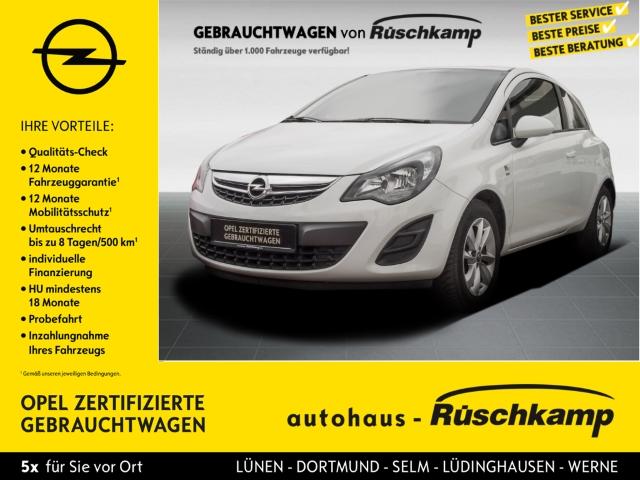 Opel Corsa D Energy 1.2 RDC Klima Temp CD AUX USB MP3 ESP Seitenairb. BC Scheckheft Gar. Alu, Jahr 2014, Benzin