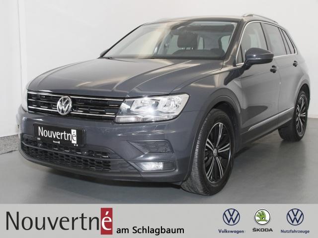 Volkswagen Tiguan 1.4 TSI Comfortline + AHK + Navi + Klima, Jahr 2018, Benzin