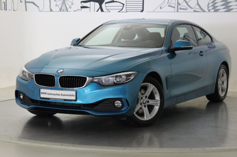 BMW 430d Coupé Advantage Head-Up HiFi Navi Prof. EURO 6, Jahr 2017, Diesel