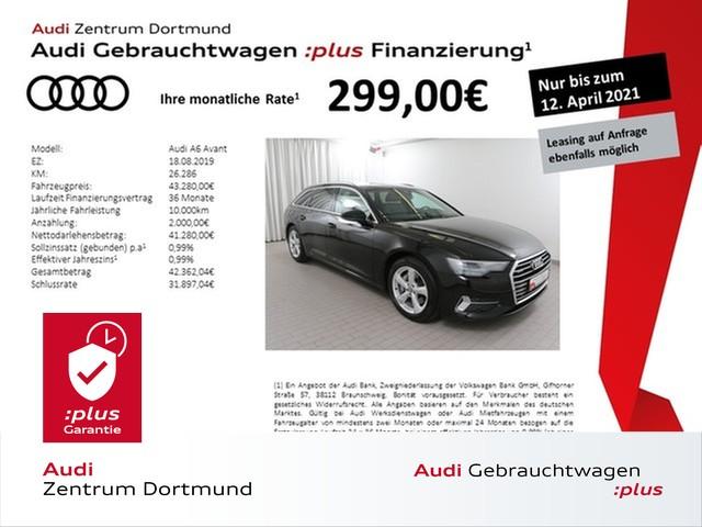 Audi A6 Avant sport 45TDI qu. Navi+/Pano/AHK/Leder, Jahr 2019, Diesel
